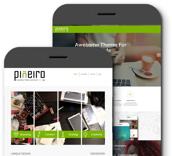 Mobile-Friendly and Responsive by Pineiro Marketing Group